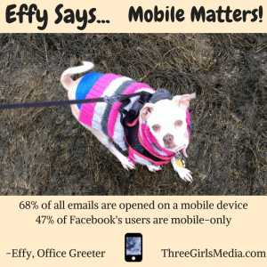 As Effy says, remember your mobile users!