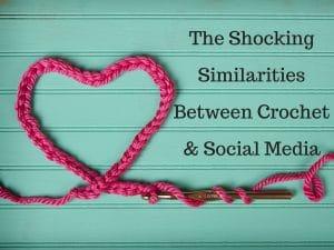 crochet and social media