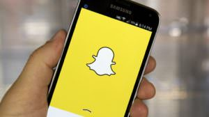 Snapchat Screen.