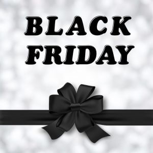 Black Friday and Ribbon.