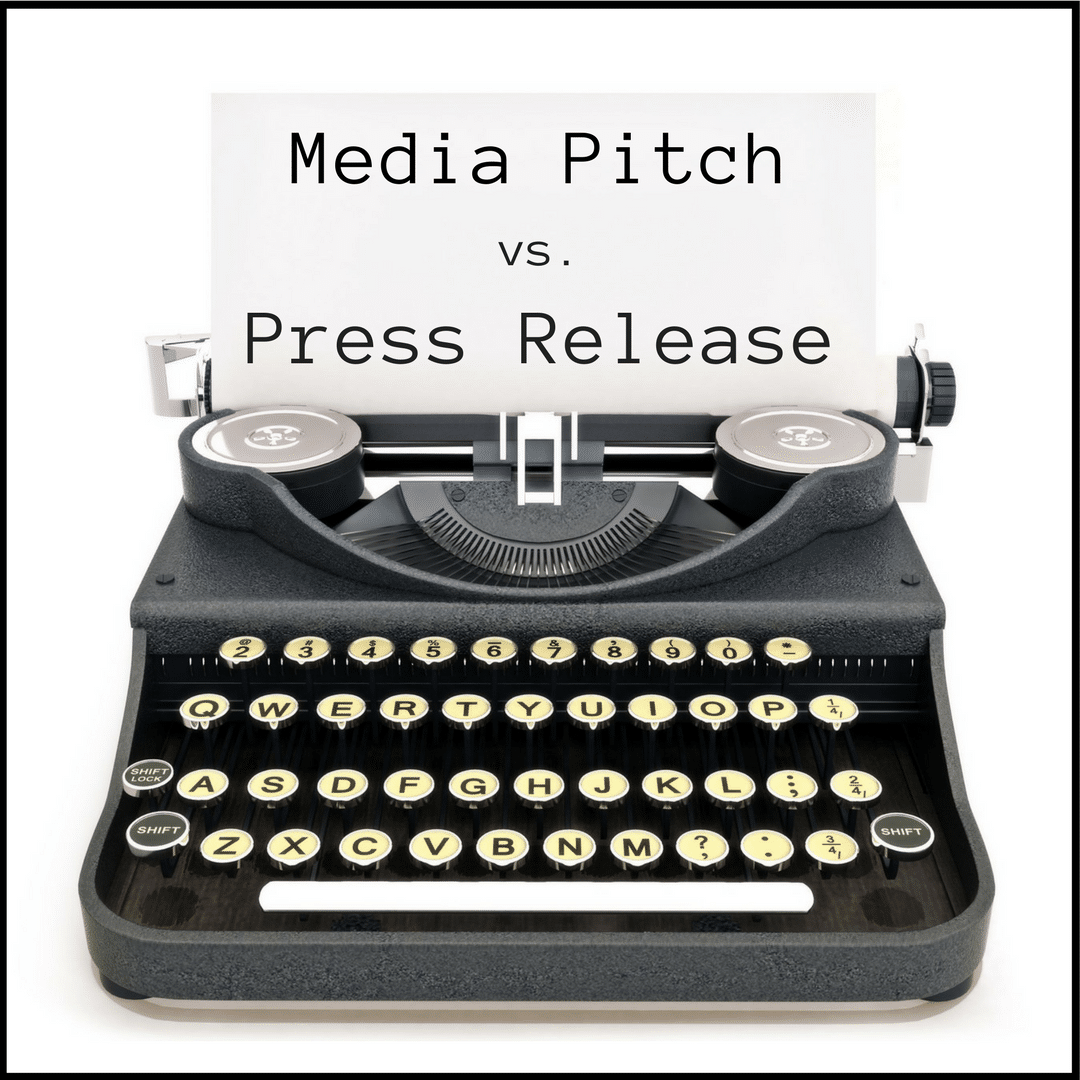 Pitch Vs. Press Release: What's The Difference?