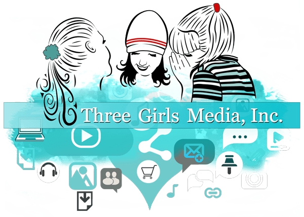 Three Girls Media Logo