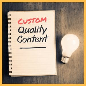 custom quality content on paper