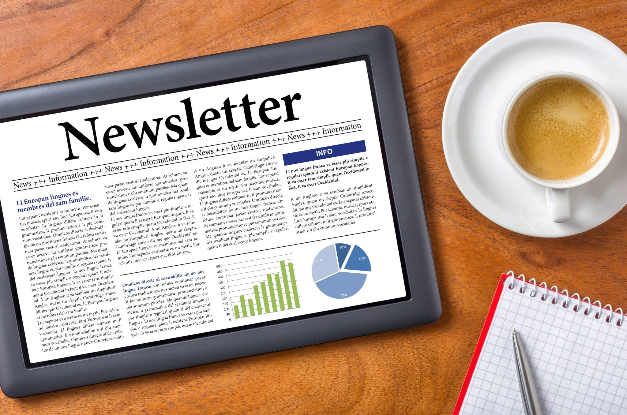 Infographic: 25 Content Ideas for Your Company Newsletter