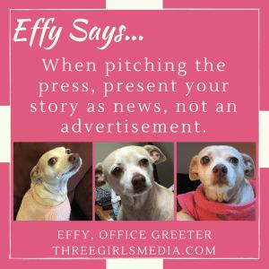 Effy Says Press Pitching