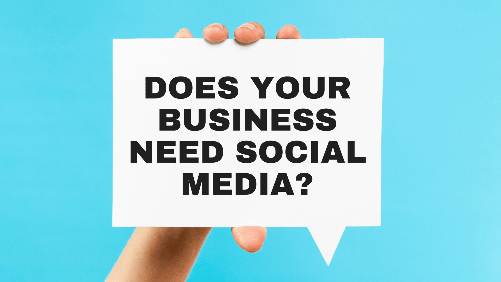 Video: Should You Invest in Social Media? Yes!