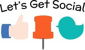 Social media update types