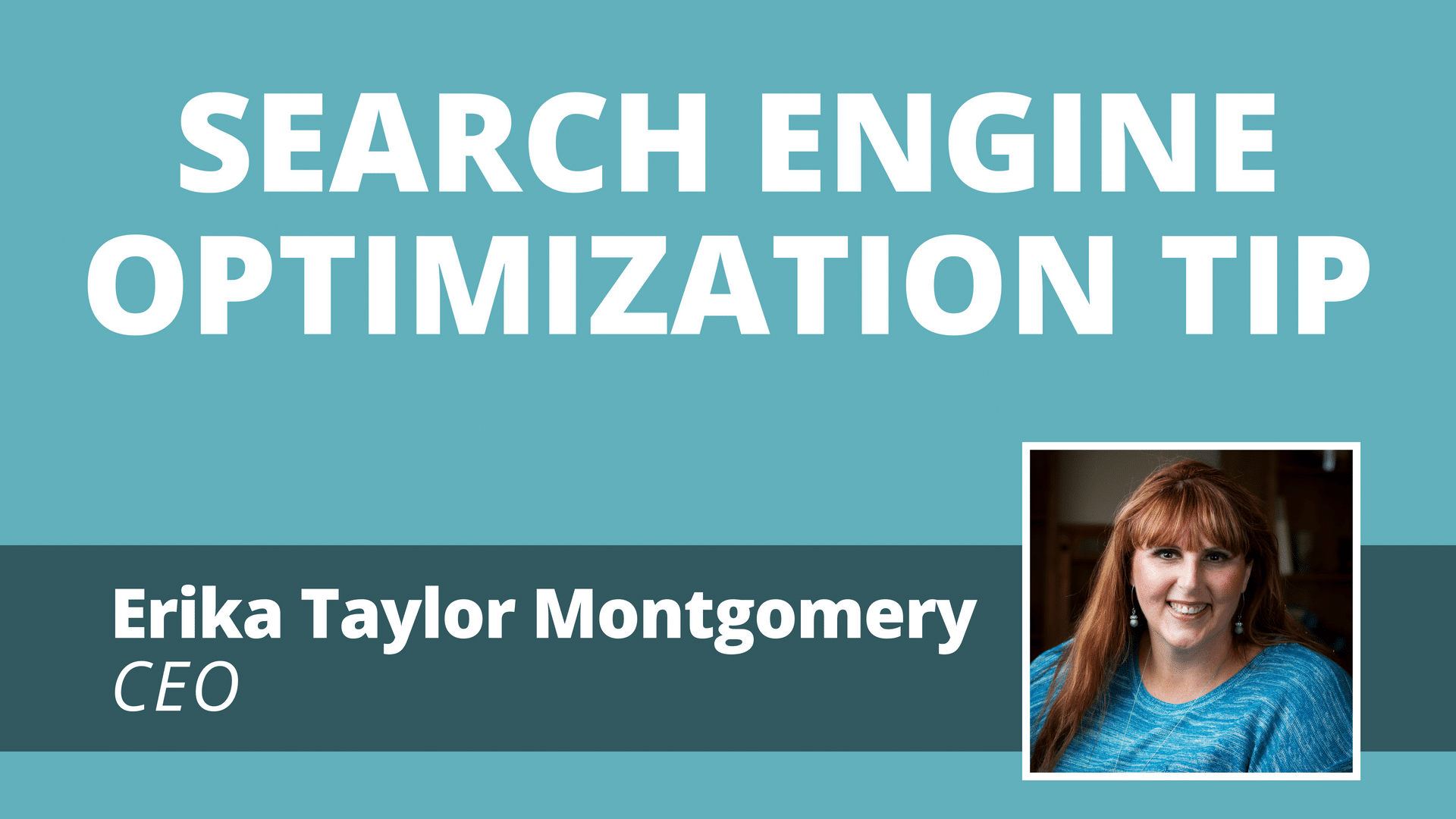 Video: Search Engine Optimization Tip