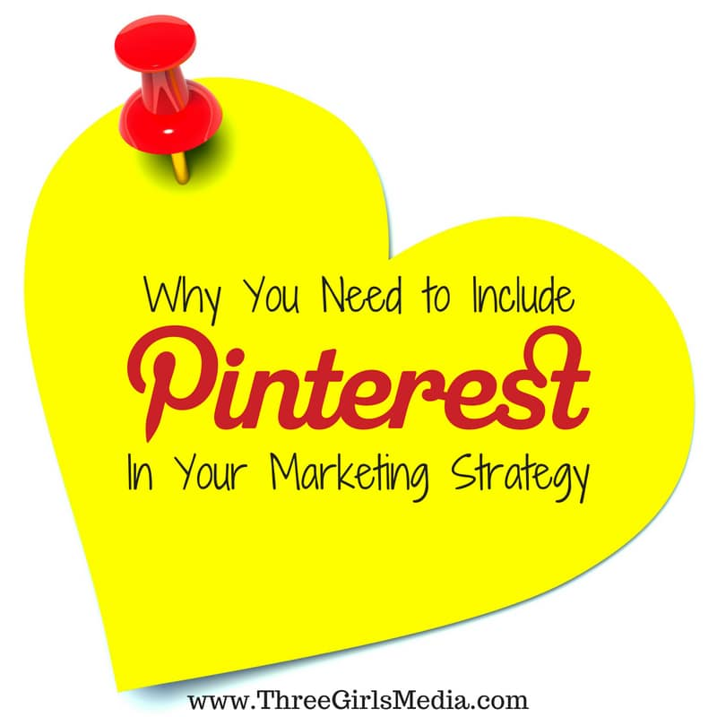 Why You Need To Include Pinterest in Your Marketing Strategy