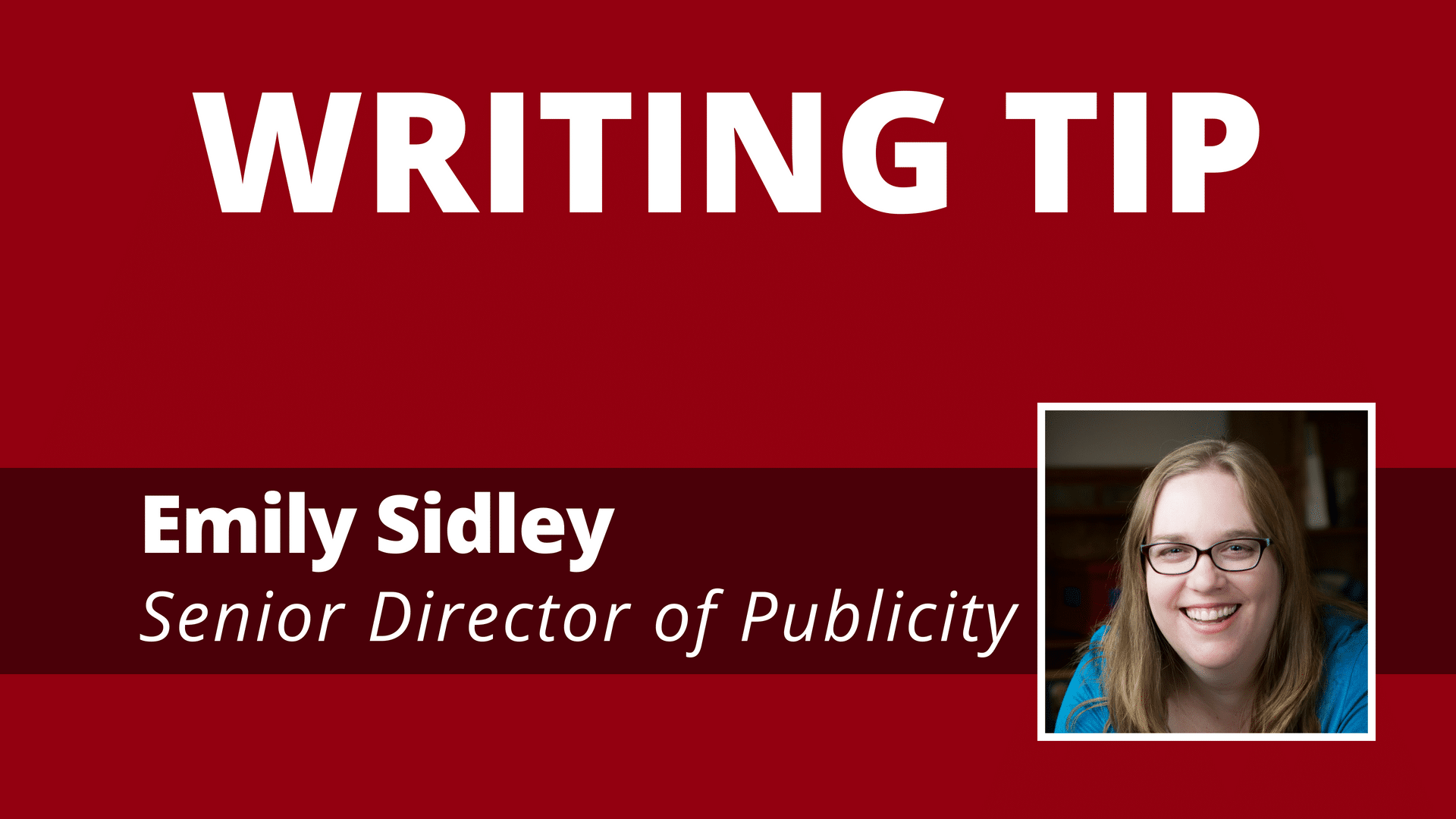Video: Writing with Purpose
