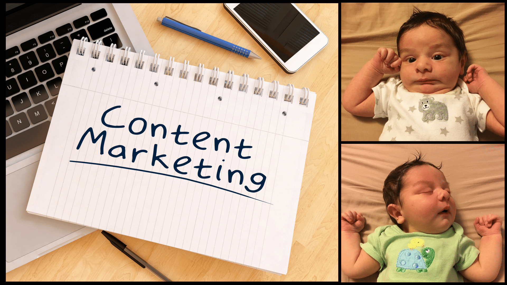 How Successful Content Marketing is Like Having a Baby