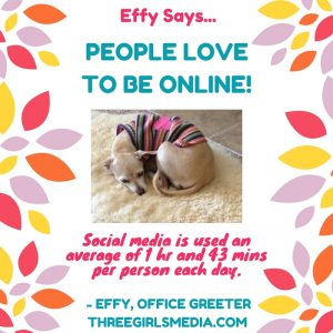 Effy Says... People Love To Be Online