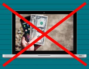 no cash for clicks