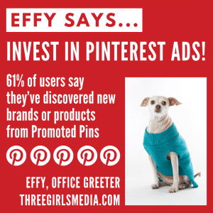Effy Says... Invest In Pinterest Ads!