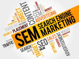 Words for Search Engine Marketing.