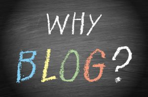 why is blogging important?