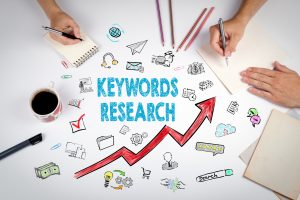 Keywords research graphic