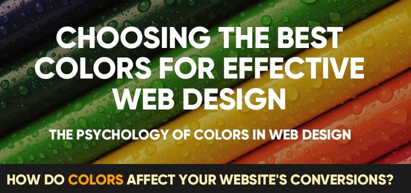 The Psychology of Color on Website Design