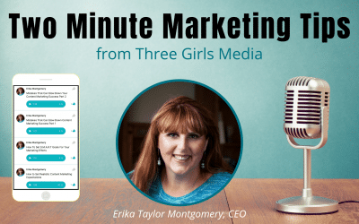 Two Minute Marketing Tips The 7 Types of Social Media Marketing Content