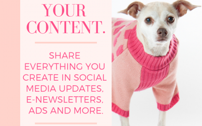 Effy Says…Promote Your Content!