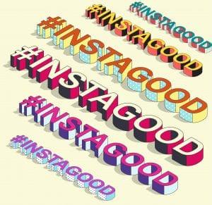 hashtags in instagram
