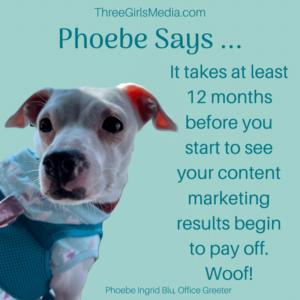 Phobe Says Content Marketing