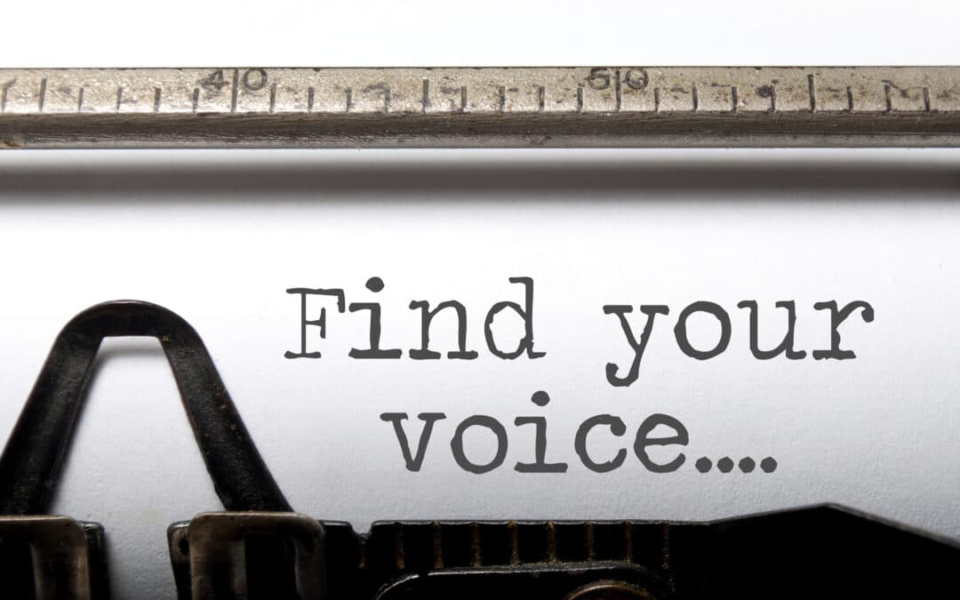 Active voice in content marketing.