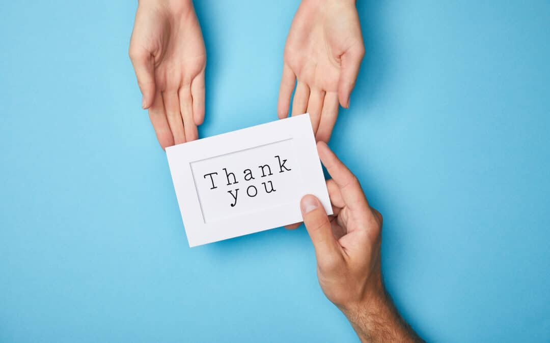 Thank You Cards In Business – The Art of Saying Thanks